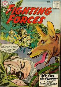 Cover Thumbnail for Our Fighting Forces (DC, 1954 series) #50
