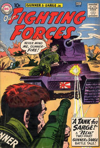 Cover Thumbnail for Our Fighting Forces (DC, 1954 series) #57