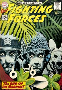 Cover Thumbnail for Our Fighting Forces (DC, 1954 series) #71