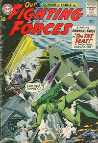 Cover Thumbnail for Our Fighting Forces (DC, 1954 series) #76