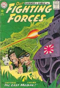 Cover Thumbnail for Our Fighting Forces (DC, 1954 series) #78