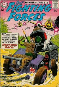 Cover Thumbnail for Our Fighting Forces (DC, 1954 series) #80