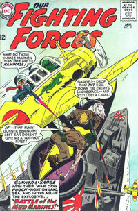 Cover Thumbnail for Our Fighting Forces (DC, 1954 series) #81
