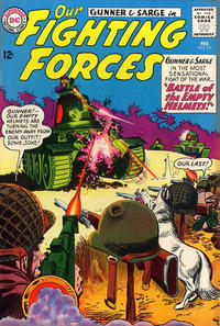 Cover Thumbnail for Our Fighting Forces (DC, 1954 series) #82