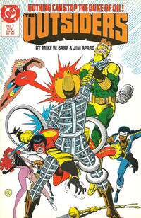Cover Thumbnail for The Outsiders (DC, 1985 series) #7