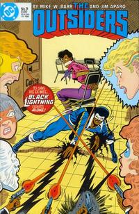 Cover Thumbnail for The Outsiders (DC, 1985 series) #9