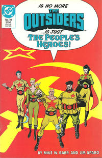 Cover Thumbnail for The Outsiders (DC, 1985 series) #10