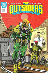 Cover Thumbnail for The Outsiders (DC, 1985 series) #11