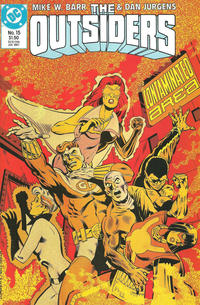 Cover Thumbnail for The Outsiders (DC, 1985 series) #15