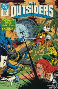 Cover Thumbnail for The Outsiders (DC, 1985 series) #18