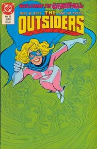 Cover Thumbnail for The Outsiders (DC, 1985 series) #19