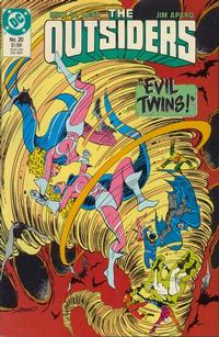 Cover Thumbnail for The Outsiders (DC, 1985 series) #20