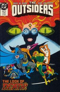 Cover Thumbnail for The Outsiders (DC, 1985 series) #21