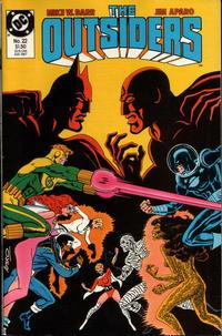 Cover Thumbnail for The Outsiders (DC, 1985 series) #22