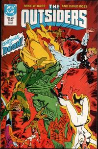 Cover Thumbnail for The Outsiders (DC, 1985 series) #23