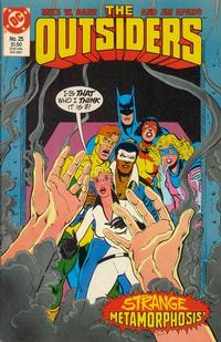 Cover Thumbnail for The Outsiders (DC, 1985 series) #25
