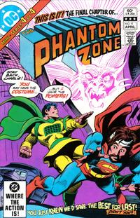 Cover Thumbnail for The Phantom Zone (DC, 1982 series) #4 [Direct]