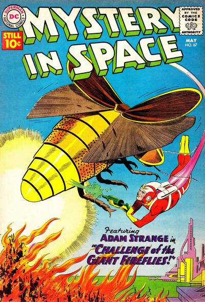 Cover for Mystery in Space (DC, 1951 series) #67
