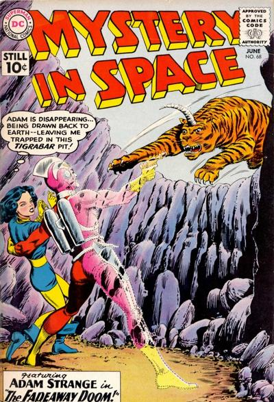 Cover for Mystery in Space (DC, 1951 series) #68