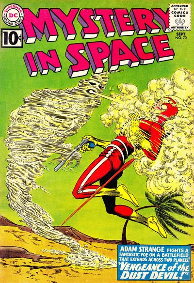 Cover for Mystery in Space (DC, 1951 series) #70