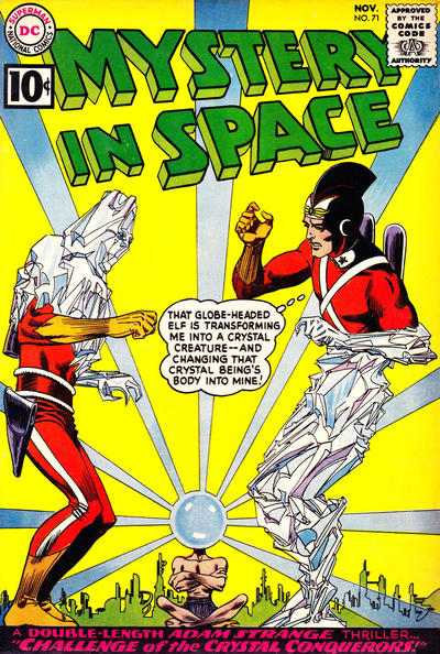 Cover for Mystery in Space (DC, 1951 series) #71