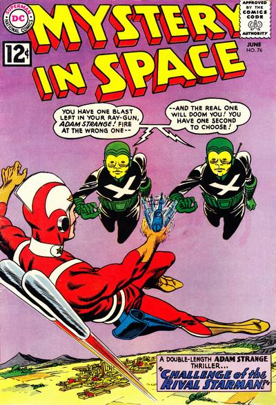 Cover for Mystery in Space (DC, 1951 series) #76