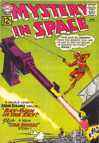 Cover for Mystery in Space (DC, 1951 series) #77