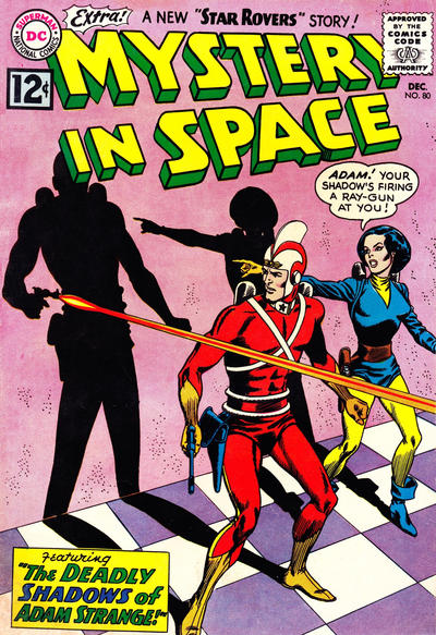 Cover for Mystery in Space (DC, 1951 series) #80