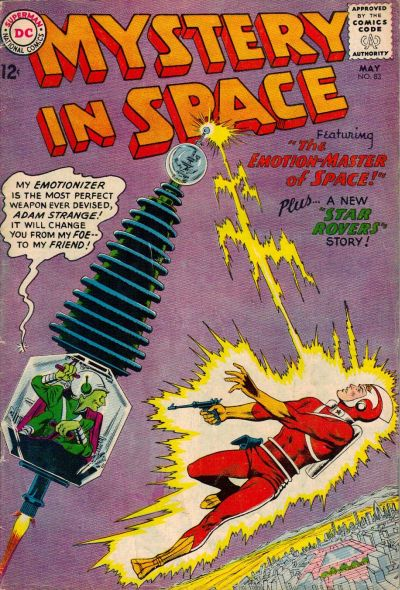 Cover for Mystery in Space (DC, 1951 series) #83