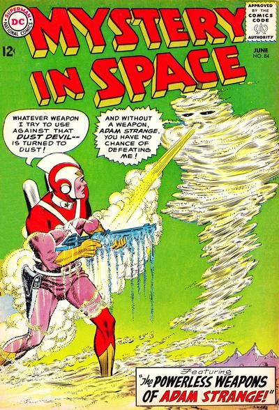 Cover for Mystery in Space (DC, 1951 series) #84