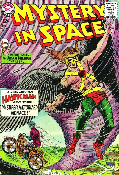 Cover for Mystery in Space (DC, 1951 series) #89