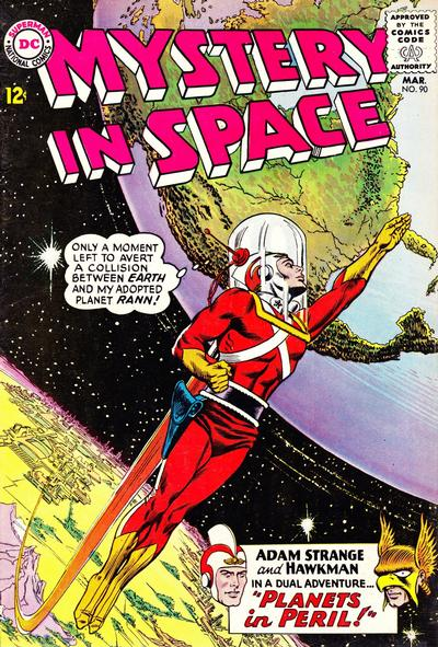 Cover for Mystery in Space (DC, 1951 series) #90