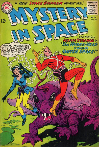 Cover for Mystery in Space (DC, 1951 series) #95