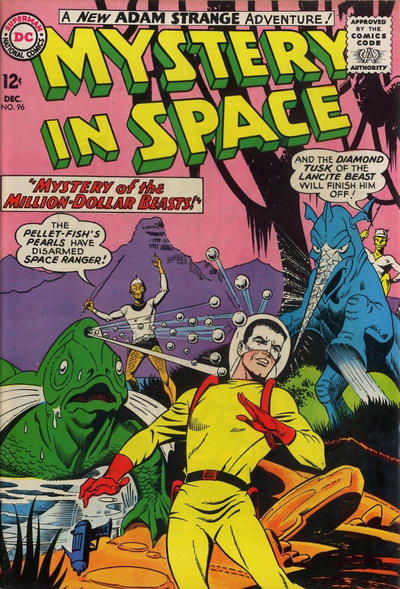 Cover for Mystery in Space (DC, 1951 series) #96