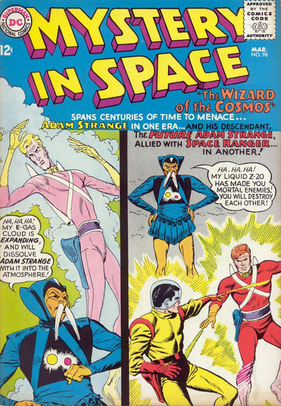 Cover for Mystery in Space (DC, 1951 series) #98