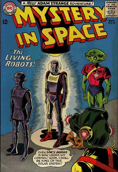 Cover for Mystery in Space (DC, 1951 series) #99