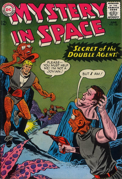 Cover for Mystery in Space (DC, 1951 series) #100