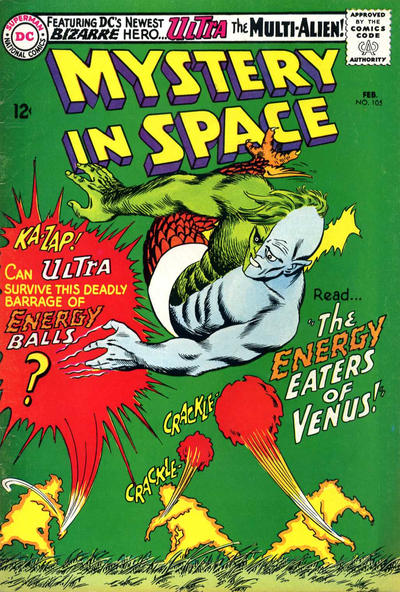 Cover for Mystery in Space (DC, 1951 series) #105