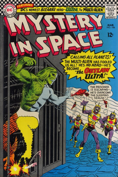 Cover for Mystery in Space (DC, 1951 series) #106