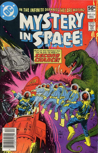 Cover for Mystery in Space (DC, 1951 series) #114 [Direct]