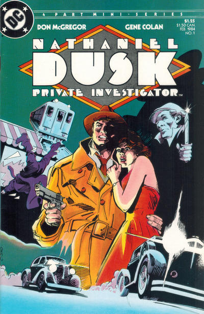 Cover for Nathaniel Dusk (DC, 1984 series) #1