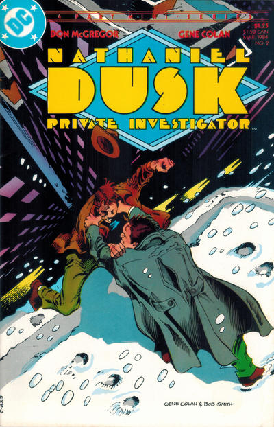 Cover for Nathaniel Dusk (DC, 1984 series) #2
