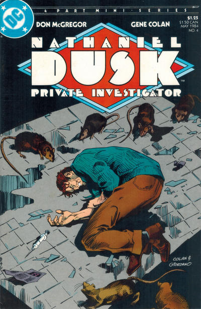 Cover for Nathaniel Dusk (DC, 1984 series) #4