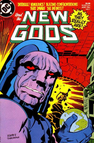 Cover for New Gods (DC, 1984 series) #1