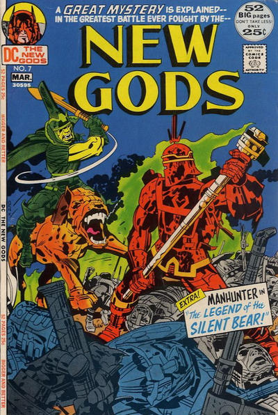 Cover for The New Gods (DC, 1971 series) #7