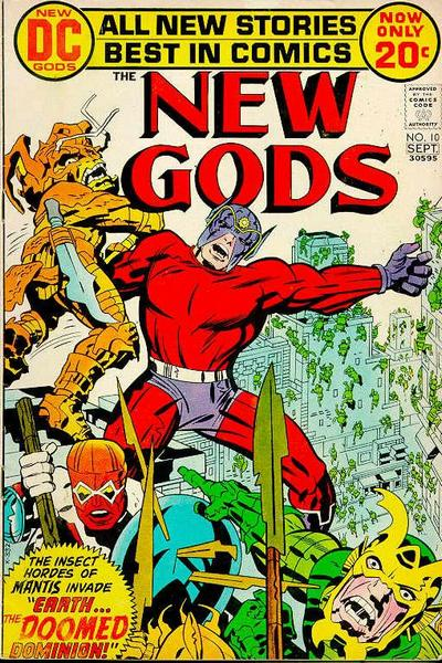 Cover for The New Gods (DC, 1971 series) #10