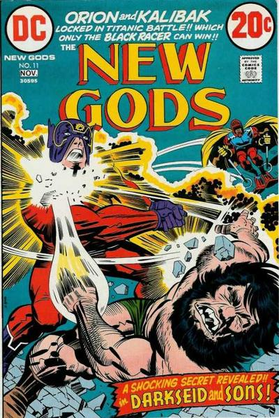 Cover for The New Gods (DC, 1971 series) #11
