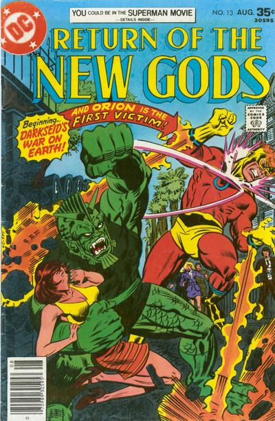 Cover for The New Gods (DC, 1971 series) #13