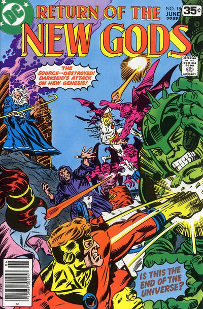 Cover for The New Gods (DC, 1971 series) #18