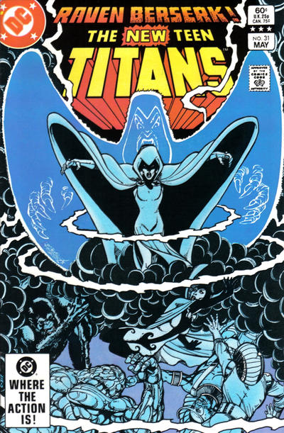 Cover for The New Teen Titans (DC, 1980 series) #31 [Direct]